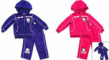 Girls Official Tracksuit 2-8 Years Hello Kitty