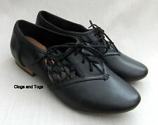 NEW CLARKS ACTIVE AIR HENDERSON CUTE WOMENS BLACK LEATHER SHOES