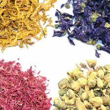 Natural Dried Flowers, Petals - Rose, Peony, Cornflower, Jasmine, and Much More!