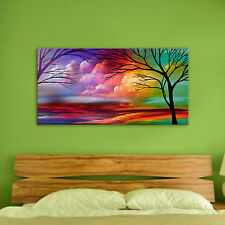 Unframed Modern Hand Painted Canvas Oil Painting Landscape Before the Rainstorm