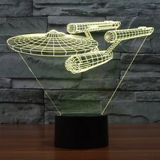 New Star Trek Enterprise 3D LED Lamp