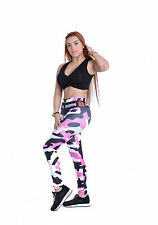 New Sexy Plus Size High Waist 3d Printed colorful Sporting Leggings Workout Pant