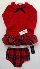 NEW WITH TAG RALPH LAUREN POLO BABY GIRL DRESS SZ 18 MONTHS