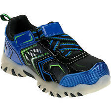 Starter Toddler Boys' Blue/Black Light -up Athletic Running Sneakers/Shoes: 7-11