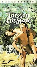 Tarzan And His Mate~Johnny Weissmuller~Uncut Version~BRAND NEW VHS