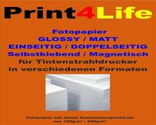 High white Glossy Inkjet Photo paper Glossy one-sided double-sided A3 A4 A5