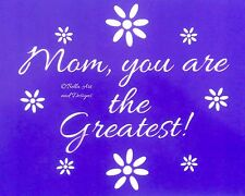 Assorted Family stencils - **Free gift with every order**