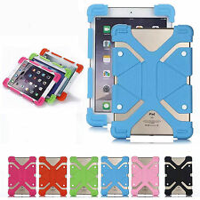"Shockproof Stand Soft Silicone Elastic Cover Case for RCA 7"" 8"" 10"" Tablet PC"