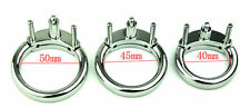 New Stainless Steel Card Ring For Restraint Device Penis Chastity Cage(Ring)