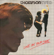 "Thompson Twins-Love On Your Side 7"" 45-Arista, ARIST 504, 1983, Picture Sleeve"