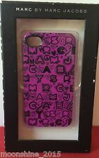 Marc by Marc Jacobs iPhone 4 4S Case, Dreamy Graffiti Print Pink, Silver, Purple