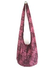 HIPPIE HOBO SHOULDER BAG THAI CROSSBODY SLING HANDMADE YOGA MESSENGER TRAVEL ;