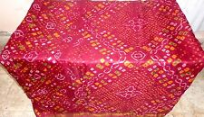 AU Pure silk Antique Vintage Sari DEAL CHEAP 4y Su 1520 Px Maroon USA #ABH9L