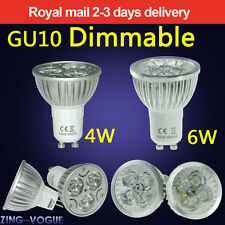 Dimmable GU10 MR16 G4 4W 6W LED Bulbs Spot Light Lamp High Power Day Warm White