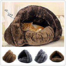 Super Soft Dog Cat House Puppy Cave Pet Sleeping Bed Mat Pad Igloo Nest