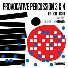 Enoch Light And The Light B...-Provocative Percussion 3&4  CD NEW