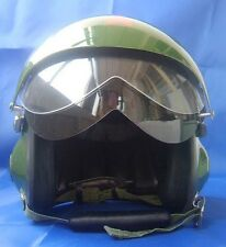 New DOT Green Jet Pilot Open Face Motorcycle Scooter Helmet dual Visors S M L XL