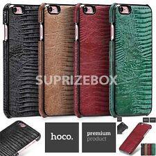 For iphone 6 6s Plus Genuine Leather Slim Back Case Cover Hoco Lizard Series