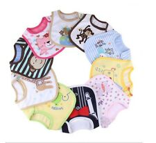 1pc New cotton waterproof Baby Boys Girls Kids Children Bibs Saliva Burp Apron