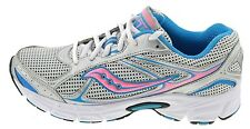 (SVF) Saucony Grid Cohesion 7 Trainers silver blue rosa 174978