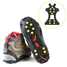 Cleats Over Shoes Studded Snow Grips Ice Grips Anti Slip Snow Shoes Crampons CU