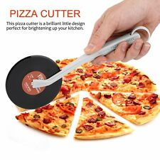 Top Spin Slice Record Player Pizza Cutter Vinyl Record Design Pizza Cutter IB