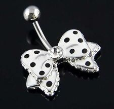 Genuine Multi Crystal Navel Body Bars ~ Buy 4 & Pay For 3 ~ Plus Free Gift Pouch