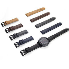 Genuine Leather Watch Strap Wrist Band For Samsung Gear S3 Classic / Frontier