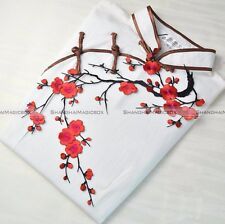 1PC Flower Motif Applique Patch Craft Embroidered Sew Iron On Plum Blossom S5