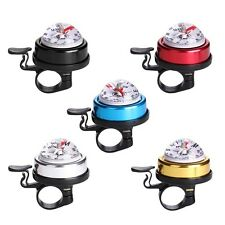 Mountain Bike Bicycle Bell Horn Ring Metal Plastic Cycling Alarm With Guide CZ