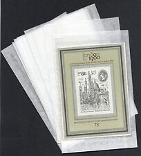 """Clear Face Bags (4"""" x 6"""")  - Stamps / Cards etc. FREEPOST"""