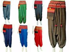 Mens / Womens Hill Tribe Hmong Baggy Harem Pants / Hippie Hammer boho Trousers