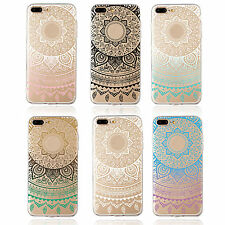 WL Rubber Soft TPU Silicone Phone Back Case Cover for Apple iPhone 5 6 6s 7plus