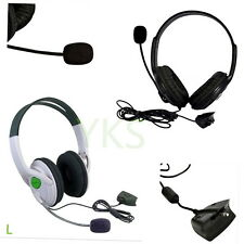 Live Big Headset Headphone With Microphone for XBOX 360 Xbox360 Slim NEW C^^