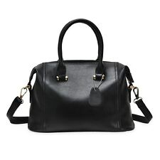 Lady Rivet Embellishment Pillow Solid Color Women Handbag Shoulder Messenger