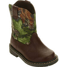 Mossy Oak Infant/Toddler Boys/Girls Camo Cowboy/Casual Boots/Shoes: Sizes 2-12
