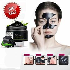 Face Mask Nose Blackhead Acne Pore Deep Remover Cleansing Strip Black Mud Lot SR