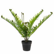 Artificial Realistic Foliage Green Potted Fern 53 cm house-plant Indoor Patio