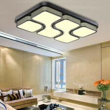 Modern LED Panel Ceiling Light 36W 48W Bathroom Kitchen Living Room Lighting