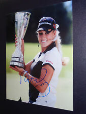 NATALIE GULBIS HOT! SIGNED 8X10 LPGA GOLF AUTOGRAPHED *IN-PERSON* COA! f
