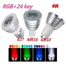 Energy-saving E27 GU10 MR16 RGB LED 16 Change Color Light Lamp Bulb + IR Remote