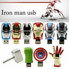 USB2.0 Flash Drive 8GB-32GB Memory Stick Marvel's The Avengers Real U-Disk New
