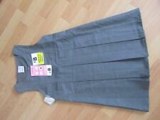 Girls Grey Pleated School Pinafore Age 5-9 by Ladybird