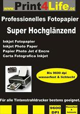 Photo paper DIN A4 A3 one-sided double sided Super High-gloss High glossy Inkjet
