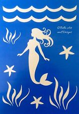 List 1 - Ocean and Seashell stencils - **Free gift with every order**