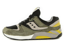 Saucony Grid 9000 Mens Green Black Athletic Casual Running Shoes