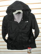 THE NORTH FACE WOMENS RESOLVE WATERPROOF JACKET -AQBJ- HIGH RISE GREY - S,M,L,XL