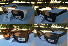 New Mens Womens Polarized Lens Wayfarer Sunglasses Tortoise Black White Retro