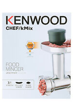 Kenwood Chef/KMix Food Mincer Attachment with Sausage and Kebbe Maker New
