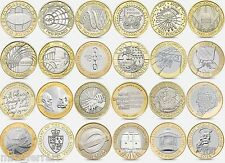 British Coin Hunt £2 Commemorative Two Pound Coins (£2) 2pound Album, Circulated